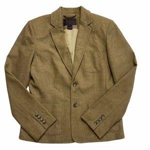 Ralph Lauren Wool Blend Beige Blazer School Boy